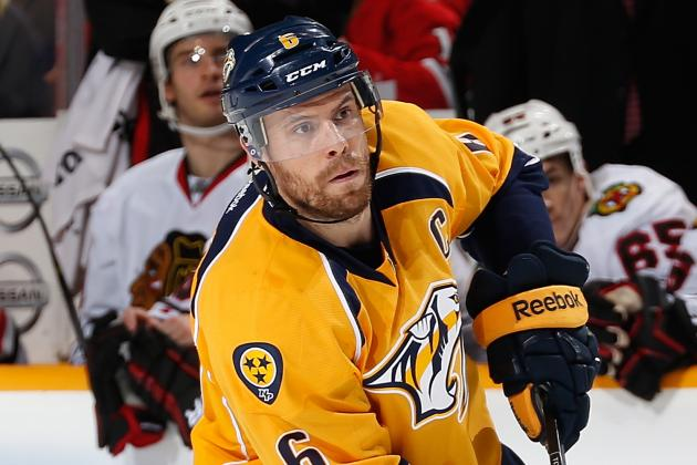 Are Predators Right About Shea Weber's Worth?