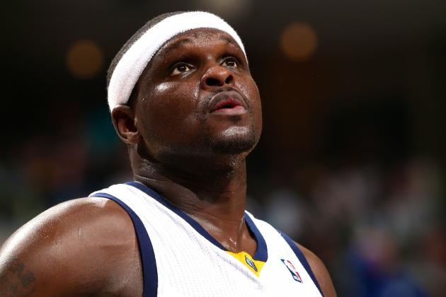 Zach Randolph Suspended for Game 7 After Punching Steven Adams