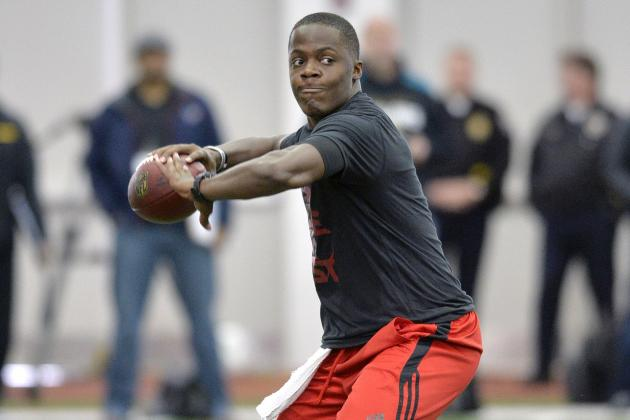 Teddy Bridgewater's Poor Pro Day Isn't Only Factor in Plummeting Draft Stock