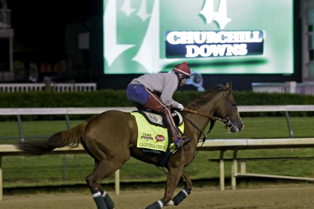 Kentucky Derby Oddsmakers Give California Chrome Huge Betting Edge