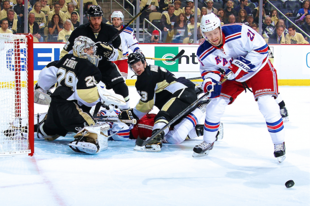 New York Rangers vs. Pittsburgh Penguins Game 1: Live Score and Highlights