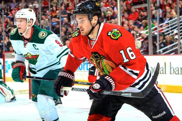 Minnesota Wild vs. Chicago Blackhawks Game 1: Live Score and Highlights