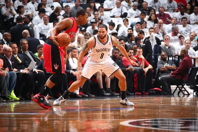 Battle of Point Guards Deron Williams, Kyle Lowry Has Huge Game 7 Implications