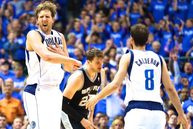 Spurs vs. Mavericks: Game 6 Score and Twitter Reaction from 2014 NBA Playoffs