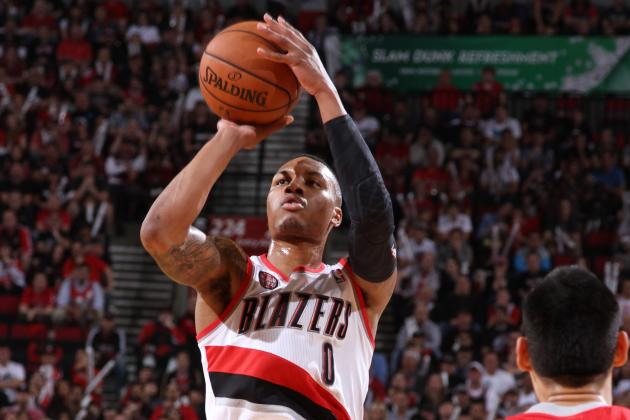Video: Lillard Beats Buzzer as Blazers Advance