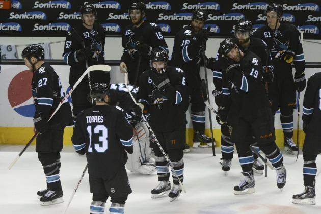 San Jose Sharks' 'Choke' Reputation Grows Legendary with Collapse, What's Next?