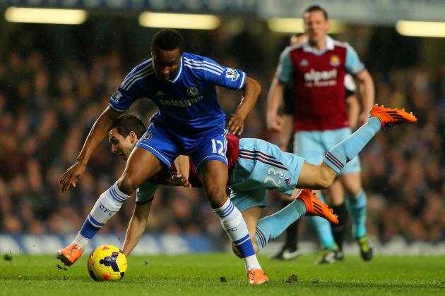 John Obi Mikel Set to Trade Chelsea for Inter Milan