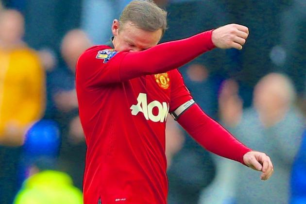 Wayne Rooney Groin Injury Could Mean His Season Done for Manchester Utd