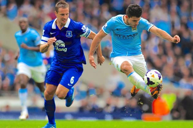 Everton vs. Manchester City: Premier League Live Score, Highlights, Report