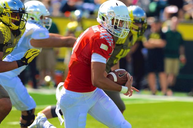 Oregon Spring Game 2014: Live Score, Top Performers and Analysis