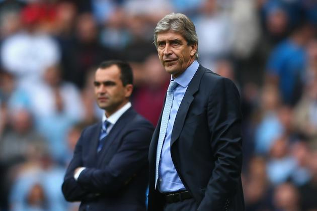 Everton vs. Manchester City: Reaction from Roberto Martinez, Manuel Pellegrini