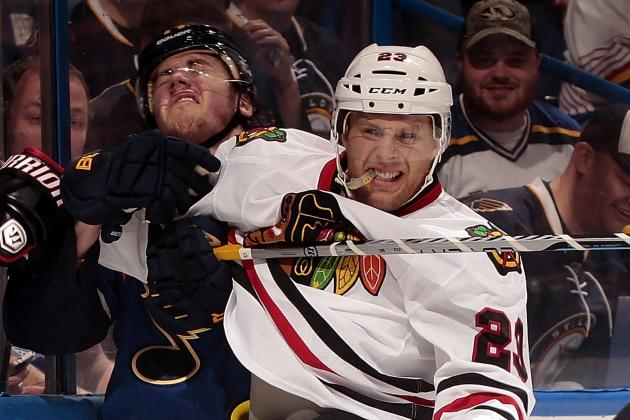 Illness Keeps Versteeg out of Lineup in Game 1