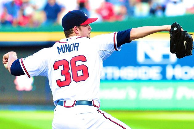Mike Minor's Tough-Luck 2014 Debut Highlights Braves' Offensive Woes