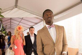 Photos: Wildcats Star Julius Randle Is at the Kentucky Derby
