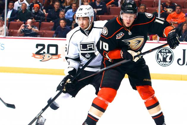Los Angeles Kings vs. Anaheim Ducks Game 1: Live Score and Highlights