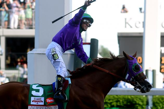 Triple Crown 2014: Analyzing California Chrome's Chance After Kentucky Derby Win
