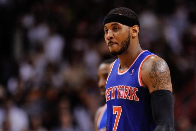 Can Steve Kerr Keep Carmelo Anthony with New York Knicks?
