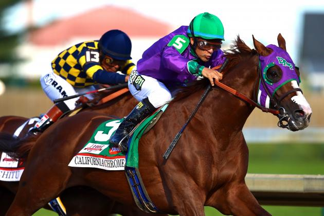 Kentucky Derby Winner 2014: Breaking Down California Chrome's Triple Crown Odds