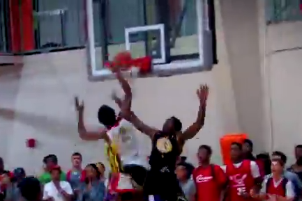 Blakeney ABSOLUTELY SHUTS the GYM DOWN with a CRAZY Poster Slam!