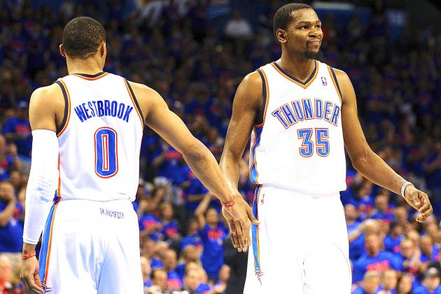Kevin Durant, Russell Westbrook Finally Hit Stride Together to Oust Grizzlies
