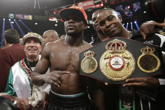 Floyd Mayweather vs. Marcos Maidana Results: Money Shows Toughness in Gritty Win