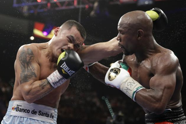 Mayweather vs. Maidana Fight: Money's Resiliency on Display Again in Tough Win