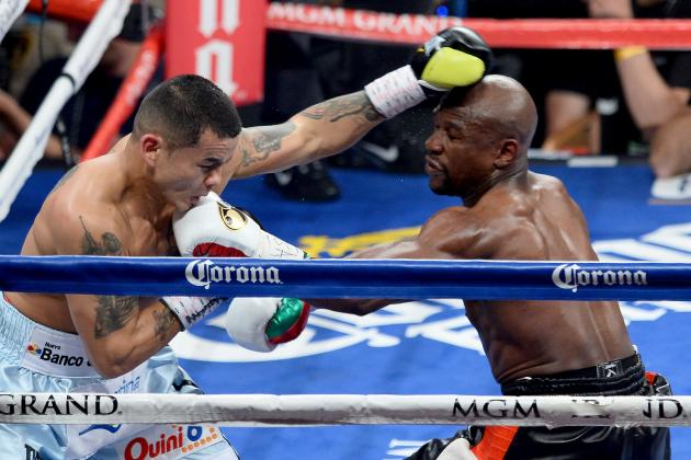 Mayweather vs. Maidana Rematch: Money Willing to Fight El Chino Again After Win