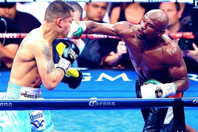 El estadounidense Mayweather, invicto, tras derrotar a Maidana en Las Vegas