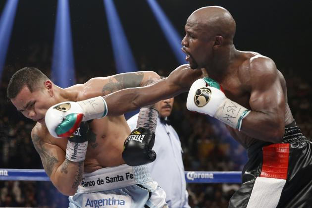 Floyd Mayweather Fight Results: Most Telling Stats from Win vs. Marcos Maidana