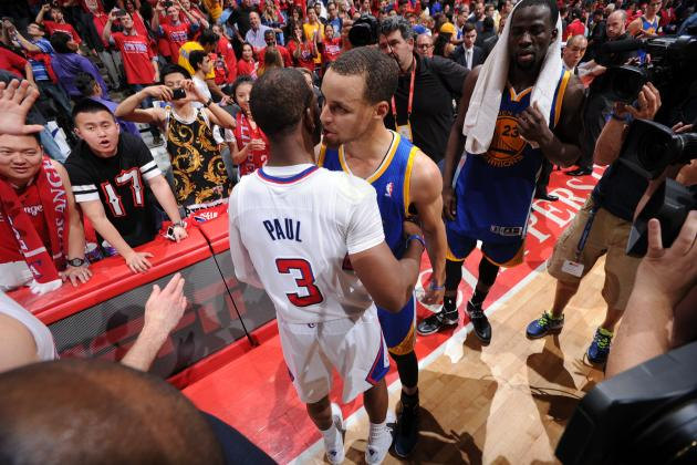 Clippers, Warriors in Angry Confrontation After Game