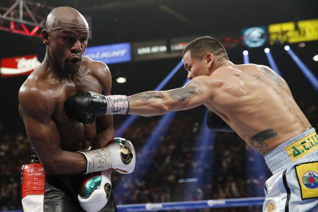 Maidana vs. Mayweather: Biggest Moments from Exciting Fight