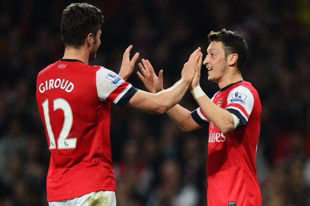 Arsenal vs. West Bromwich Albion: Live Player Ratings for the Gunners