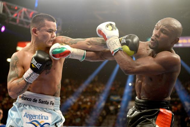 Floyd Mayweather vs. Marcos Maidana Results: Money Survives Tough Test in Win