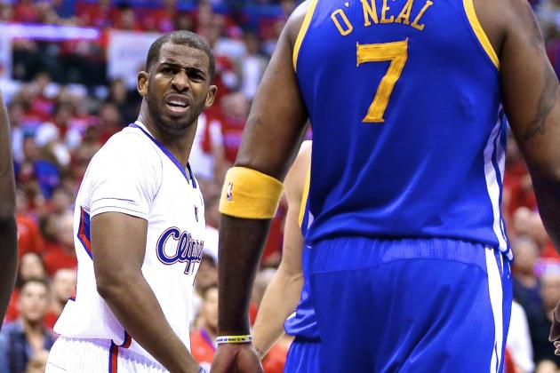 Clippers and Warriors Reportedly Have Confrontation After Game 7