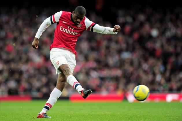 Abou Diaby Makes Return from Injury for Arsenal's Match vs. West Brom