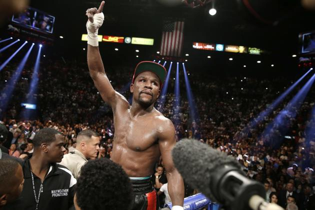 Floyd Mayweather Fight: Round-by-Round Punch Stats vs. Marcos Maidana
