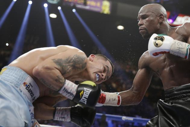 Mayweather vs. Maidana Results: Most Shocking Moments of Thrilling Bout