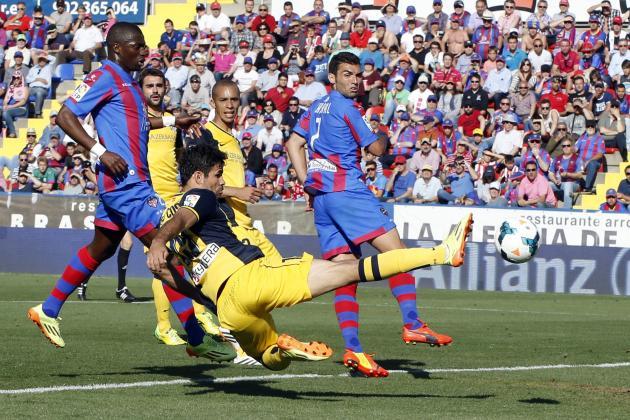 Levante vs. Atletico Madrid: Live Player Ratings for Atleti