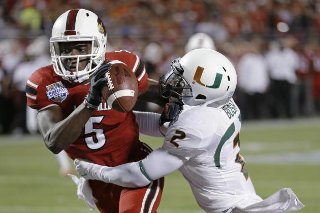 Teddy Bridgewater's Best- and Worst-Case Scenarios in 2014 NFL Draft