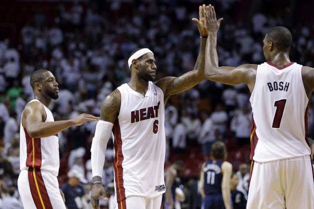 NBA Playoffs 2014: Updated Bracket, Championship Odds for 2nd Round