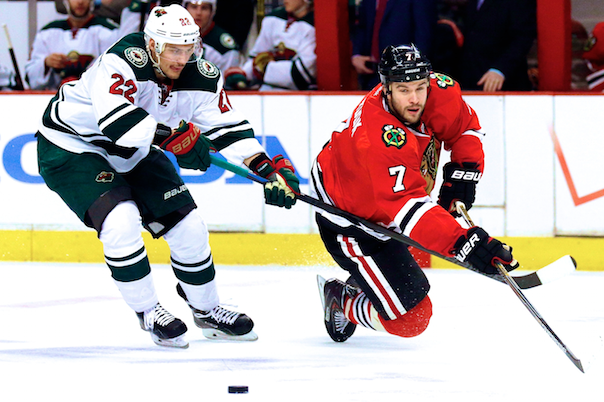 Minnesota Wild vs. Chicago Blackhawks Game 2: Live Score and Highlights