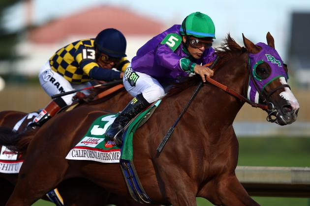 California Chrome and Victor Espinoza: Pedigree and Odds for 2014 Preakness