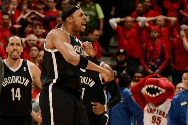 Video: Paul Pierce Makes Series-Saving Block on Lowry