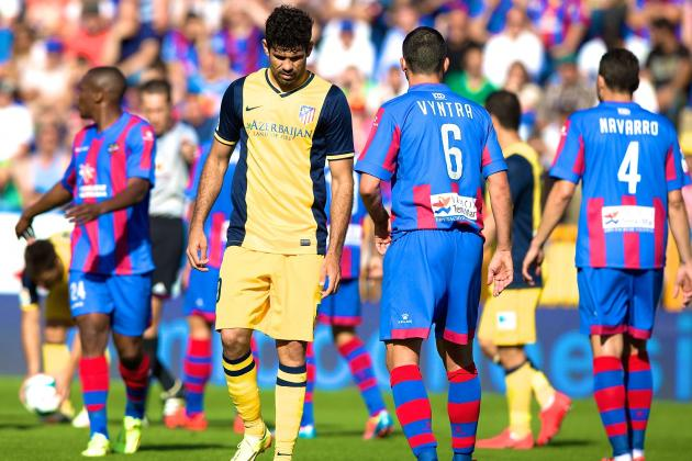 Loss to Levante Highlights Atletico Madrid's Small Margin for Error