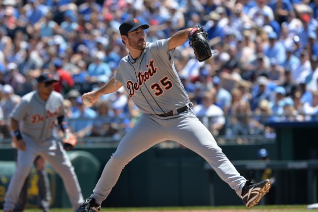 Verlander Takes No-Hitter into 6th as Tigers Roll