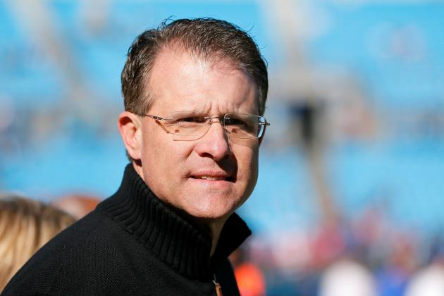 Auburn's Gus Malzahn Leads Field at Talladega as Honorary Pace Car Driver
