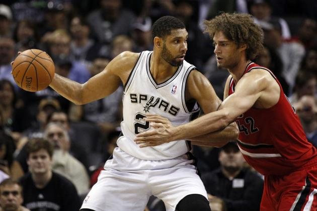 Portland Trail Blazers vs. San Antonio Spurs: Western Conference Round 2 Preview