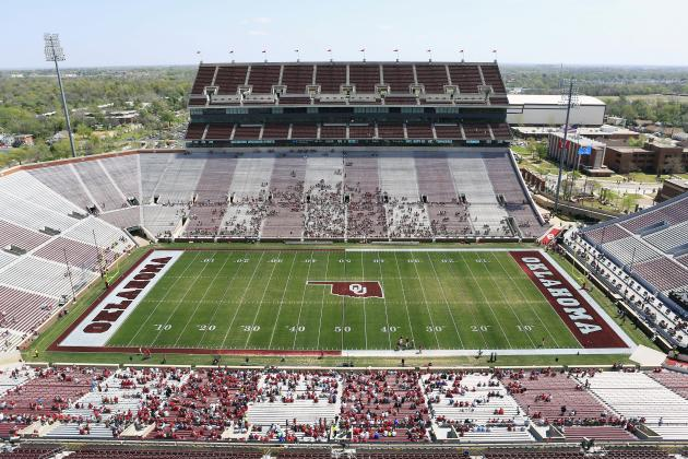 Oklahoma Sooners' Memorial Stadium Reportedly to Get over $350M in Renovations