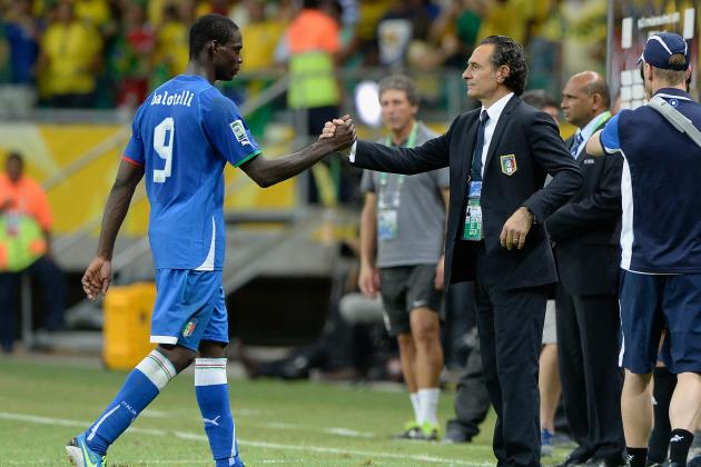 Mario Balotelli Receives Praise from Italian National Team Boss Cesare Prandelli