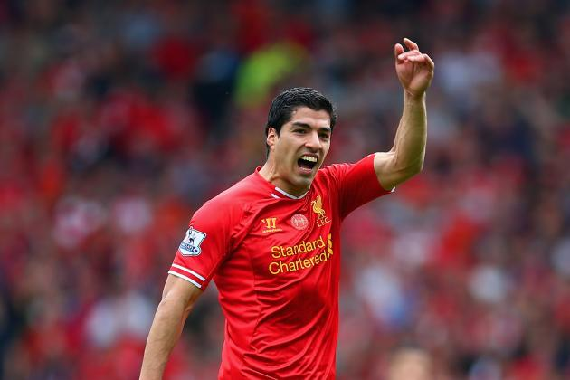 Luis Suarez Named 2014 Footballer of the Year by FWA